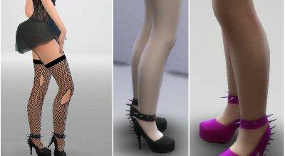 Шипастые туфли