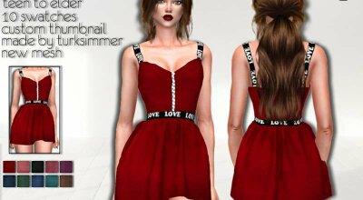 Платье C154