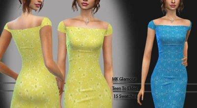 Платье Glamour