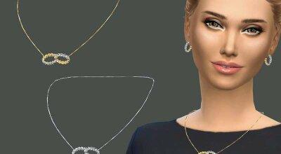 Ожерелье двойной обруч