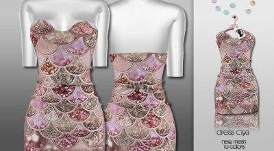 Платье C193