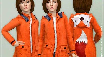 Куртка с лисичкой