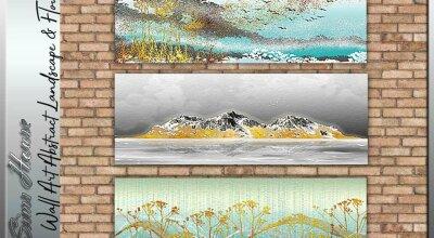 Настенные картины Landscape & Flowers