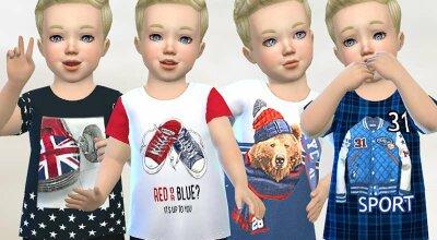 Коллекция детских футболок