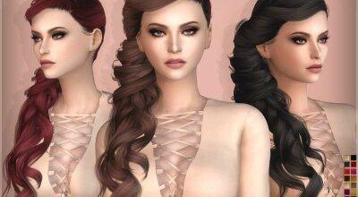 Прическа с длинными волосами (для девушек)
