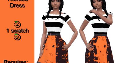 Платье Halloween Themed