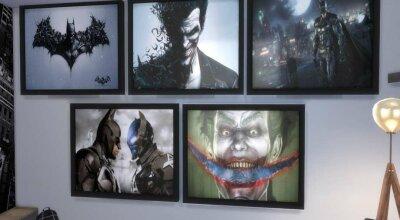 Набор картин BatmanArkham