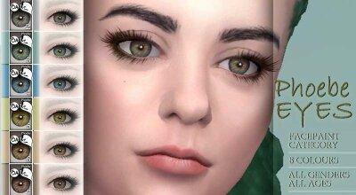 Глаза Phoebe
