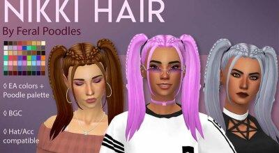 Волосы Nikki