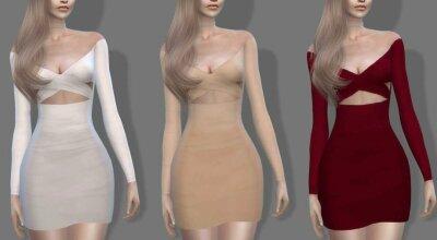 Платье Off Shoulder