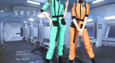 Космический костюм Sryz