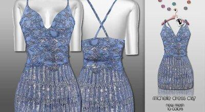 Платье C187