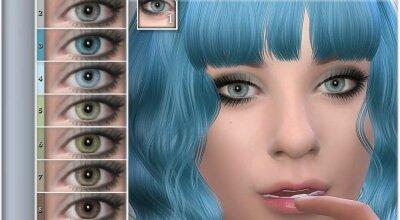 Естественные глаза 09