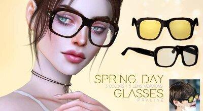 Очки - весенний день