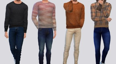 Осенний свитер Autumn Block