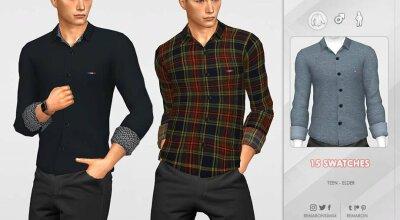 Мужская рубашка Formal 01