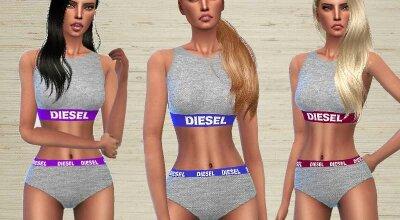 Нижнее белье от Diesel