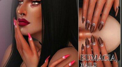 Ногти Eumacia N18