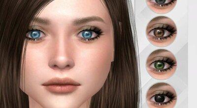 Реалистичные глаза N11