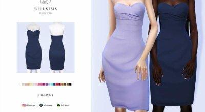 Платье Strapless