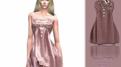 Платье C220
