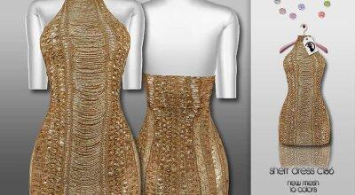 Платье C186