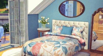 Цветочная спальня