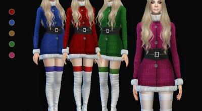Платье Cknina christmas