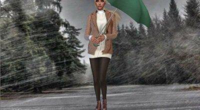 CAS дождливая погода