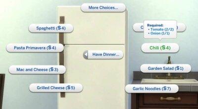 Более логичная кулинария