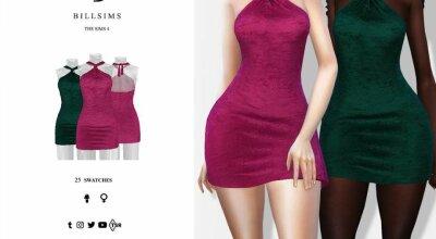 Платье Twist Neckline