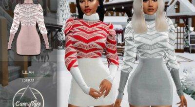 Вязаное платье Lilah