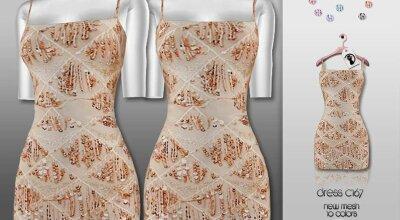 Платье C176