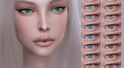 Глаза Vanessa