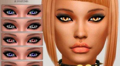 Глаза Cat Eyes N17