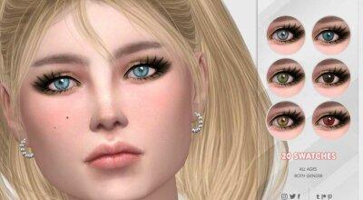 Реалистичные глаза N14