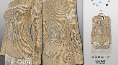 Мини платье C172