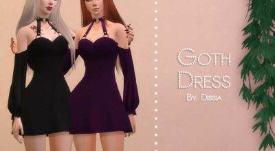 Платье Goth