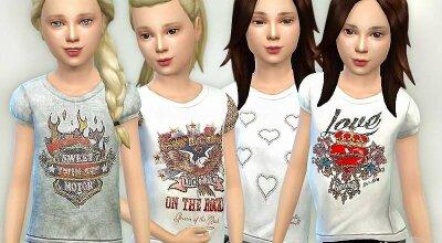 Детские футболки GP07