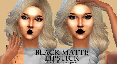 Помада Black Matte