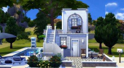Мини домик Greek Tiny Summer