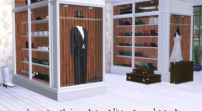 Гардероб для спальни CliveC Deco