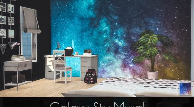 Стена Galaxy Sky