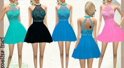 Короткое платье Melisa