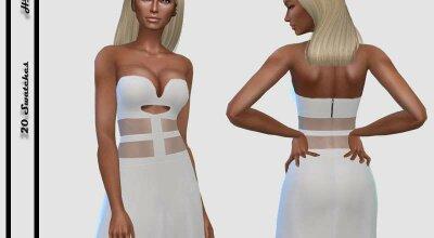 Платье Cut Out Sheer