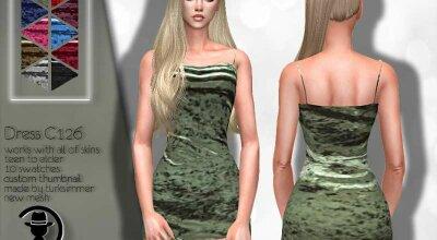 Платье C126