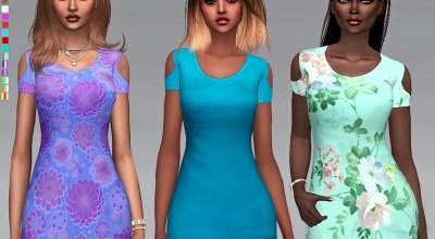 Цветастые платья