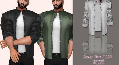 Рубашка Derek C233