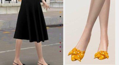 Туфли с бантиком Jius-Kitten 02