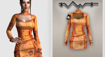 Платье BD327